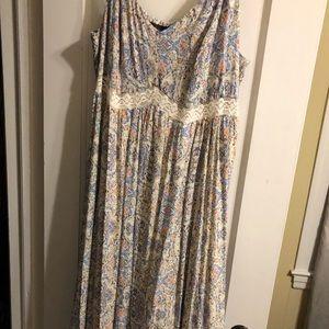 Long flowing dress